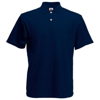 Fruit of the Loom Poloshirt navyblau