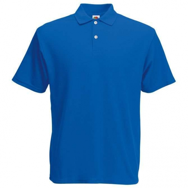 Fruit of the Loom Poloshirt royalblau