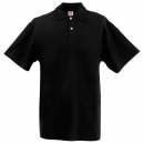Fruit of the Loom Poloshirt schwarz